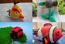 Amigurumi / Simpáticos muñecos en tejido crochet