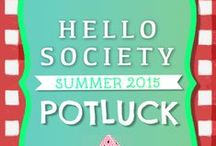 HelloSociety Summer 2015 Potluck / Welcome to HelloSociety's Summer 2015 Pinterest Potluck! This board shares treats made by HelloSociety Social Media Influencers. There will be 10 winners: 5 voted by HelloSociety team votes based on creativity, styling & photography and 5 voted by the public with most Likes on this board by Weds. Aug 12th at noon PT. Make sure to vote by 'Liking' your favorite treat pins now! We hope everyone had fun & has a great summer! #HSPinParty / by HelloSociety