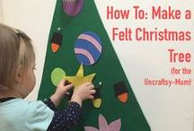 Toddler Christmas / Stocking filler ideas, present guides for 18months+, family craft ideas, and just toddler Christmas fun in general.