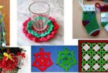 Navidad / Creaciones en crochet motivos navidad.
