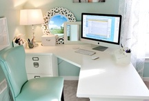 Office Space @Cool / Cool home office ideas, awesome office furniture, and decor to make productivity fun.