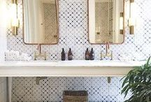 Bathroom Beauties / Inspiration for residential bathrooms