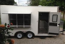 Our Restaurant Trailer / Our custom ordered trailer