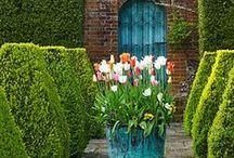 Gartenwand