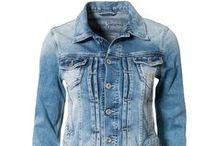 Ryflová bunda/Jeans jacket