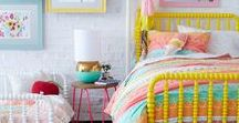 Eclectic Bedrooms for Sisters / Bedroom inspiration for Hanna and Misha