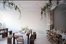 WEDDING TABLE //