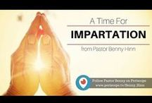 Personal Periscope messages from Pastor Benny!