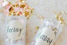 NYE Wedding Ideas / Glitz, Glamour, & a Wedding! How to create the perfect NYE Wedding