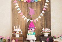 Trolls Birthday Party / Trolls Inspired Birthday Party Ideas