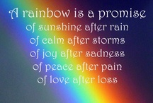 Rainbows...A PROMISE / by Leslie Jo