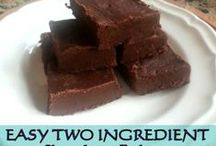 Lazy Day Recipes / Easy to make recipes with only a few ingredients