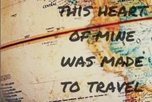 My travellers bucket list