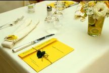 Ferragosto 2013 Hotel Andreaneri / The fantastic party we had the 15th of August 2013, celebrating Ferragosto #tablesetting #party #yellow