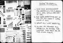 Knolling / Knolling es el proceso de organización de objetos similares en paralelo o en ángulos de 90 grados como método de organización.