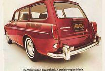 Volkswagen vintage advertisements / Examples of Volkswagen advertisements from 1960's to 70's.