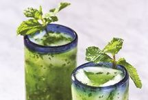 Drink up!: Kale Cocktails / Kale can make a beverage so much better (and we're not just talking healthy benefits)! Spend your weekend with your favorite green cocktail!