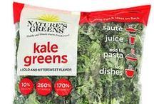 Kale in Store / Kale products are everywhere - including in your grocery store! Keep an eye out for these amazing products!