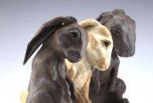 Ceramic Hares