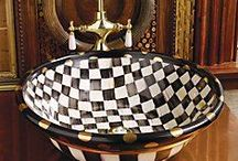 Mackenzie Childs / Is a manufacturer of ceramics and retailer of hand painted imported furniture based in Aurora, New York founded by Victoria and Richard MacKenzie-Childs...