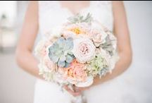 Bouquet Inspiration / Flowers are such a great way to incorporate your color scheme and add beauty to your special day!