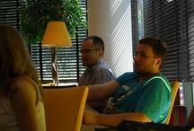 ...swoją obecnością / postanowiliśmy potwierdzić udział w barcampie TechMine Coffee organizowanym w prężnie rozwijającym się mieście - Katowicach. Dyskutowaliśmy zażarcie o popularnym Croudfoundingu.