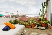 Cactus Terrace - Barcelona Beach Apartment Rental / 