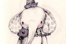 Illustration Inspiration / Our Colorful Imagination