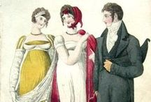 Regency Era Fashion / Fashion in Georgian and Regency Eras / by Austen Variations