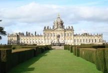 English Country Manors / Manors used in JA adaptations and other English stately mansions / by Austen Variations
