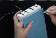 Bookbinding techniques / Tutorials and examples on bookbinding