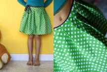 Sewing ideas / Purses Skirts