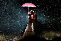 Rainy Wedding Photos / Rain is meant to bring you luck ... for these couples and their creative photographers it offers an opportunity to capture some unforgettable images.