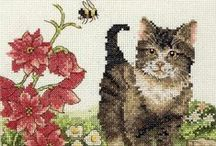 Cross Stitch / A mix of counted cross stitch, animals, and outdoors / by Barbara P