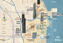 Specialty Maps / Transit Maps, Bike Maps, Relief Maps and Illustrative Maps!!!