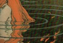 viking art nouveau