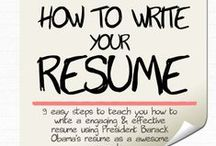 The cover letter and CV / Find out here how to write an impressive cover letter and CV