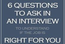 During the interview / Some of the best tips how to behave during an interview from language over posture to facial expressions.