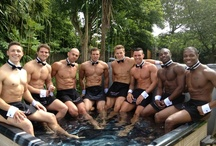Butlers in the Buff / Photographs of our Butlers around the globe at various events and parties! Enjoy...! x