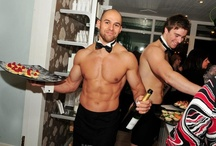Our Butlers at Events! / Pictures of our butlers from our offices in UK, Florida, Canada & Australia at your events! www.butlersinthebuff.co.uk