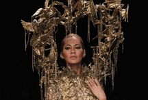 ART & FASHION / Extravagant, dreamy, fantasy fashion creation