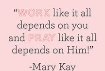 Mary kay / by Leah Phillips