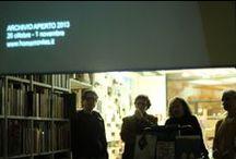"""Archivio Aperto 2013 - 22/10 / Immagini e link della presentazione del libro di Marco Bertozzi """"Recycled Cinema. Immagini Perdute, Visioni Ritrovate""""."""