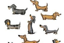 Dachshund Art / Art with the added greatness of dachshunds