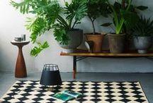 &WOHNEN / Dekorationsideen mit und rund um Pflanzen