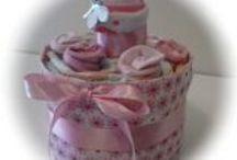 Les gâteaux de couches Créatiz For Baby / Gâteaux de couches pour un cadeau de naissance original