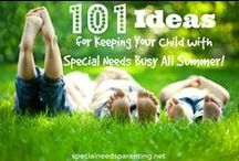 101 Ideas for Summer Activities for Your Children with Special Needs