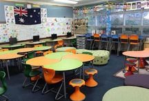 Classroom layouts and furniture