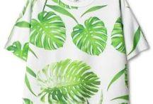 &FASHION / Pflanzen und Fashion sind gemeinsam unschlagbar