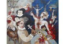 Grasky / Artiste peintre contemporain affilié à la figuration libre.
